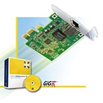 Matrox Concord GigE Vision Network Interface cards  -  NICs GigE Vision acquisition made easy