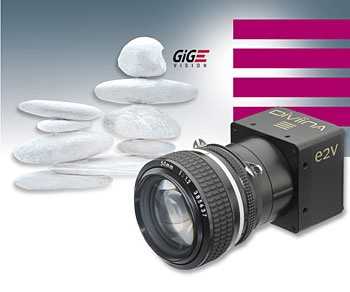 e2v DiViiNA LM1 low-cost line-scan-cameras with GigE Vision Interface