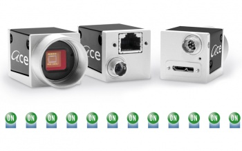 12 new cameras with PYTHON sensors from ON Semiconductor