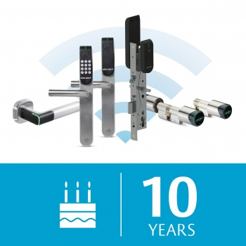 Aperio®: 10 years of trust and innovation in wireless access control