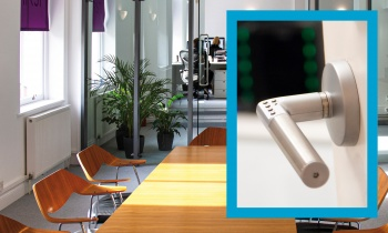 Design agency finds Code Handle® an ideal locking solution for server and meeting rooms
