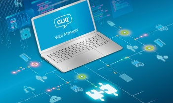 Two ways to enhance your business software with the CLIQ® Web Manager